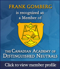The Canadian Academy of Distinguished Neutrals